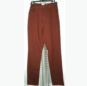 Eddie bauer high waisted Jeans 10 tall red mom